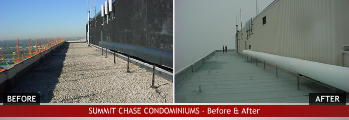 Summit chase condominiums before after